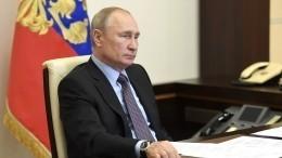 Владимир Путин лично убедился ввыплатах семьям надетей