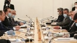 Лавров иЗариф обсудили ситуацию вСирии, саммит «астанинской тройки» ииранскую ядерную сделку