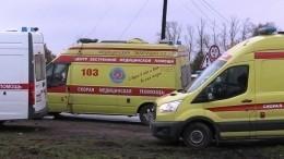 Грузовик сотказавшими тормозами смял четыре авто словно пушинки под Челябинском