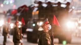 Ветераны смогут посмотреть парад наКрасной площади без масок