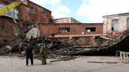 Один человек погиб врезультате обрушения конструкции здания под Ивановом