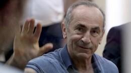 Суд освободил из-под стражи экс-президента Армении Роберта Кочаряна