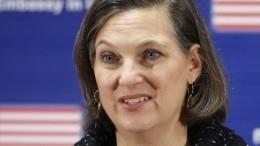 Нуланд призвала США наращивать влияние нароссиян через соцсети