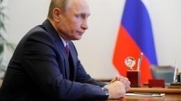 Путин показал «тайную комнату» всвоем кабинете вКремле