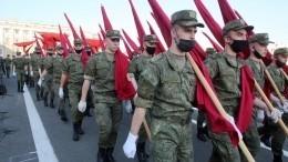 Генеральные репетиции Парада Победы прошли вроссийских городах— видео