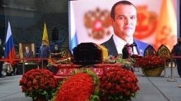 ВЧувашии простились сбывшим главой республики Михаилом Игнатьевым