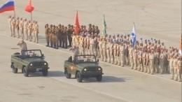 Генеральная репетиция Парада Победы прошла наавиабазе Хмеймим вСирии