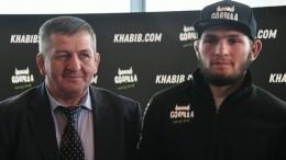 «Вреанимации»: Хабиб Нурмагомедов рассказал осостоянии отца, переболевшего COVID-19