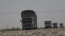 Российские военные обеспечивают безопасность трассы М-4 вСирии