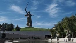Монумент «Родина-мать зовет» откроют наМамаевом кургане после реставрации