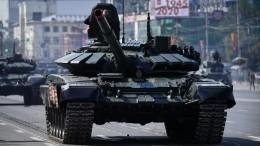 Парад Победы прошел нароссийской авиабазе Хмеймим вСирии