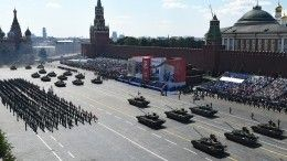 Российский космический спутник сделал фото Парада Победы вМоскве