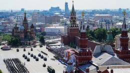 Разница в75 лет: Парад вМоскве максимально точно повторил легендарный Парад 1945 года