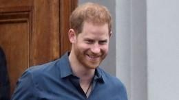 Британцы гадают, зачем принц Гарри прилетел вЛондон один