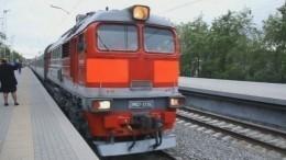 Первый пассажирский поезд прибыл вМурманск после обрушения моста