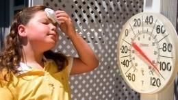 Россиян предупредили отемпературных аномалиях вконце июня