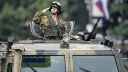 Украина направила ноту протеста РФиз-за Парада Победы вКрыму