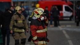 Очевидцы сообщили овозгорании вздании факультета ядерной физики МГУ