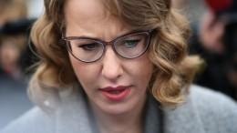 «Нападали порядка 30 человек»: Ксения Собчак рассказала подробности инцидента вмонастыре