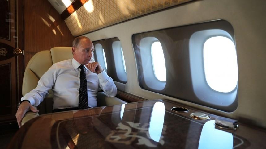Путин рассказал, почему никогда неокажется водном самолете спремьером