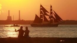 Сказка наяву: Праздник «Алые паруса» потряс жителей всего мира