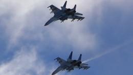 Видео: Су-27 вылетали наперехват двух самолётов США над Черным морем