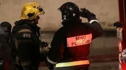 Видео: Два человека, втом числе ребенок, погибли при пожаре вМоскве