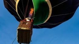 Воздушный шар слюдьми рухнул влесной массив вВеликом Новгороде