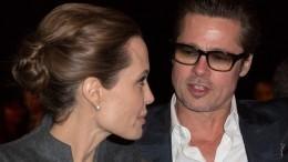 Брэд Питт впервые зачетыре года приехал вгости кАнджелине Джоли