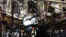 Неменее 19 человек погибли при взрыве вбольнице вТегеране