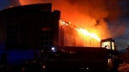 Названы возможные причины пожара вДоме культуры воВладимирской области