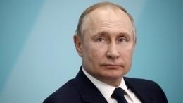 Владимир Путин проголосовал попоправкам кКонституции РФ