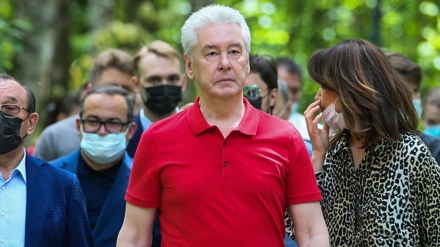 Собянин назвал вторую волну коронавируса вМоскве маловероятной