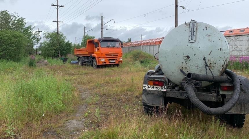 Утечка мазута произошла наюге Мурманской области— фото