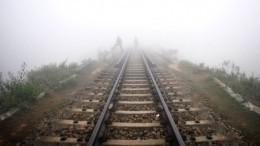 Жуткие кадры: поезд протаранил автобус спаломниками вПакистане