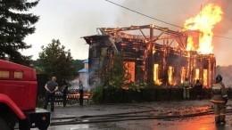 Названа причина пожара вхраме XIX века вТомской области