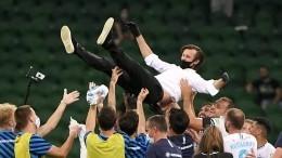 «Зенит» досрочно стал чемпионом России пофутболу после победы над «Краснодаром»