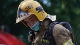 Лопнувший подземный газопровод вНижегородской области приняли закрушение самолета