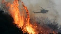Авиацию привлекли наборьбу спожарами вшести районах Дагестана