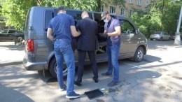 Видео задержания советника «Роскосмоса» загосизмену