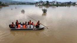 Сильнейшие наводнения привели кмногочисленным жертвам вКитае иЯпонии
