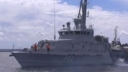 Катера Каспийской флотилии прибыли вПетербург для участия вВоенно-морском параде