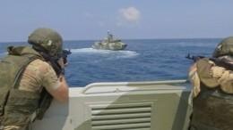 Моряки России иСирии провели совместные учения— зрелищное видео