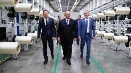 Мишустин посетил завод попроизводству углеродного волокна входе рабочего визита вТатарстан