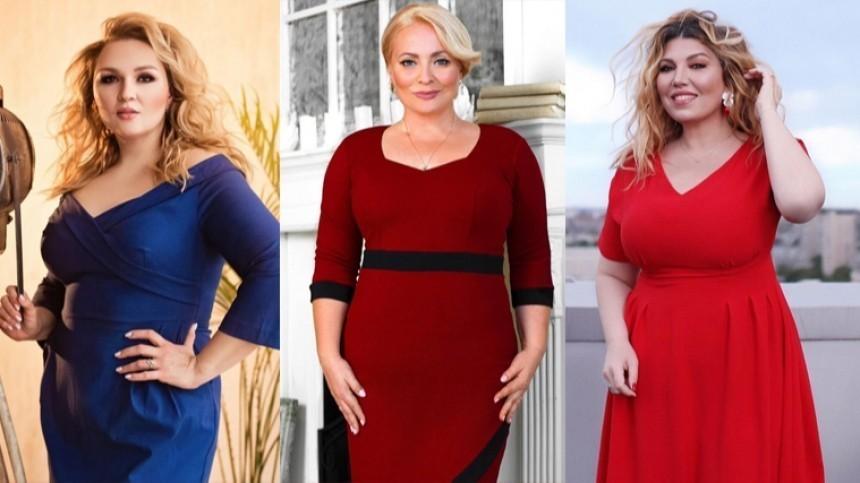 ТОП 5 российских красавиц слишним весом