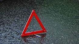 Четверо взрослых иодин ребенок пострадали вДТП савтобусом вМосковской области