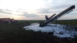 Названа вероятная причина падения Ан-2 вНижегородской области