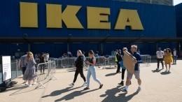 «ИКЕА» оказалась восаде изголодавшихся пошоппингу петербуржцев