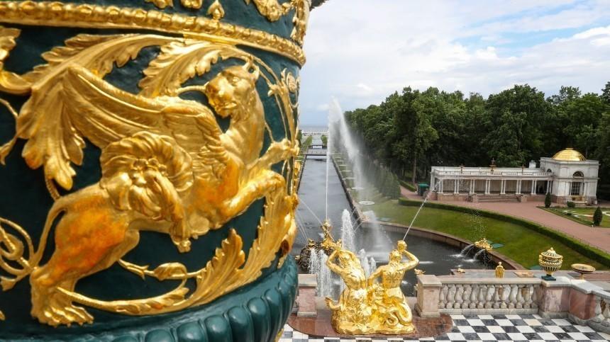 Вмузее-заповеднике «Петергоф» вандалы осквернили статую Венеры