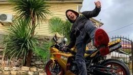 Видео гибели мотоблогера Diablo R1 вогненном ДТП под Тамбовом появилось всети